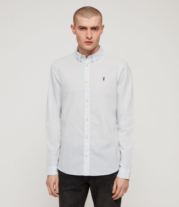 Allsaints Uk Men S Shirts Shop Now