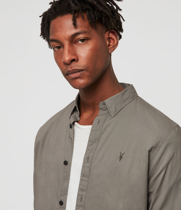 Allsaints Uk Men S Shirts Shop Now