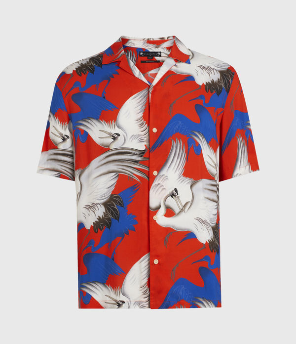 chemise hawaïenne roost