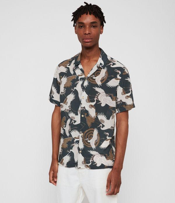 27fa8be3a5046 ALLSAINTS UK: Men's shirts, shop now.
