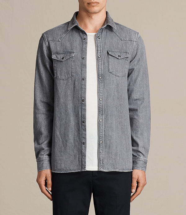 glazer denim shirt