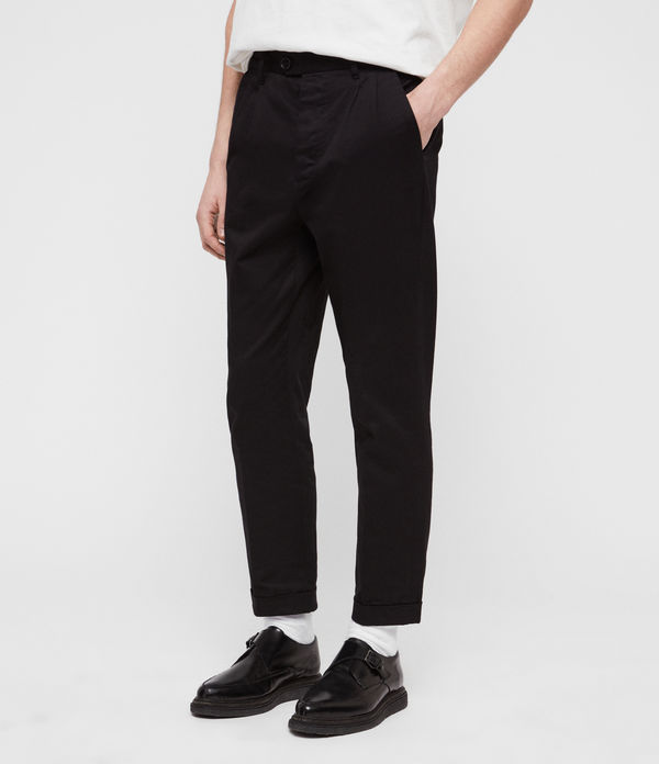 Salco Cropped Slim Chinos