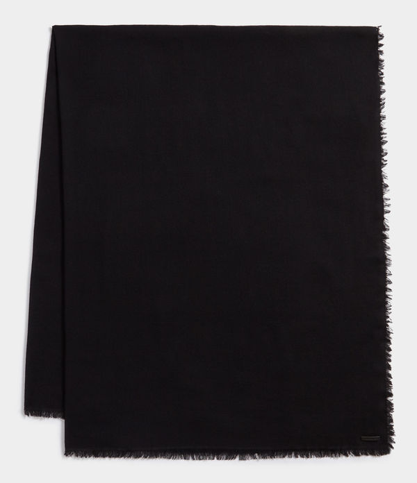 Solid Twill Oversize Scarf