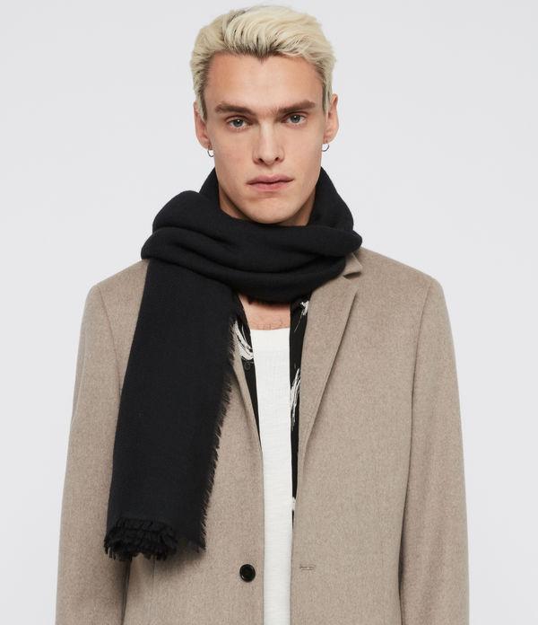 Solid Twill Wool Scarf