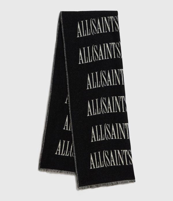 Varsity AllSaints Wool Blend Woven Scarf