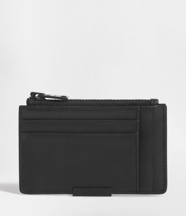 Astor Leather Zip Cardholder
