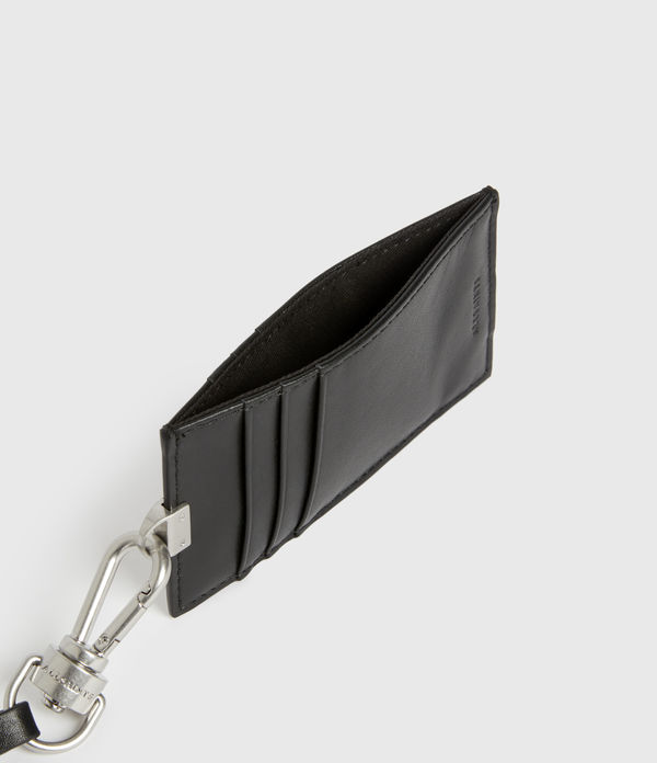 Leather Lanyard Cardholder