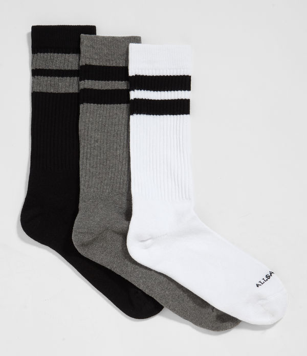 Pack de 3 Calcetines Sport Stripe