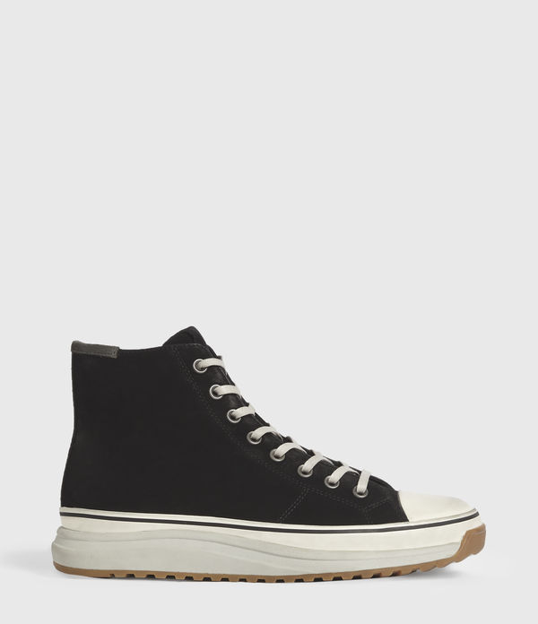 Blakely High Top Leather Trainers