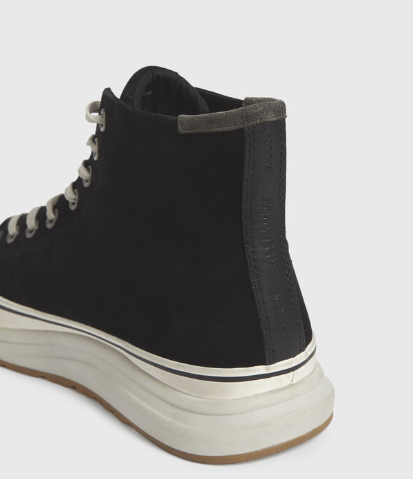 Blakely High Top Leather Sneakers
