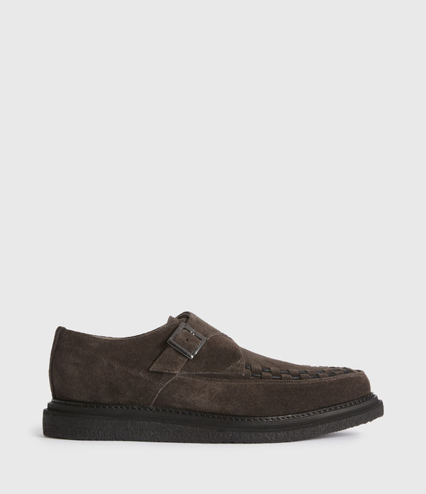 Graffin Monkstrap Suede Shoes