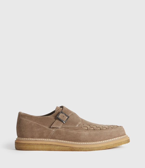 Graffin Monkstrap Suede Shoes