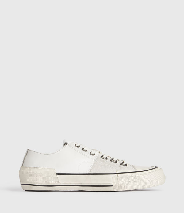 Jago Low Top Leather Trainers