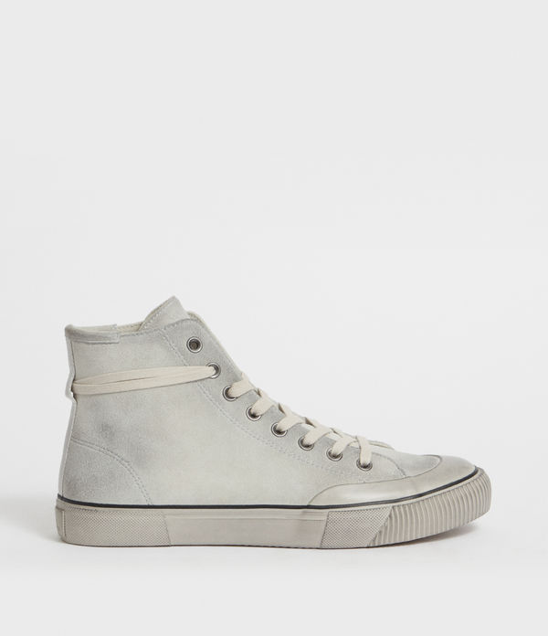 tenis de piel dumont high top