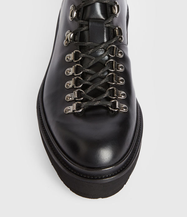 Isaac Leather Boots