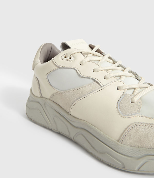 Sneakers Verge - In pelle con lacci stringati
