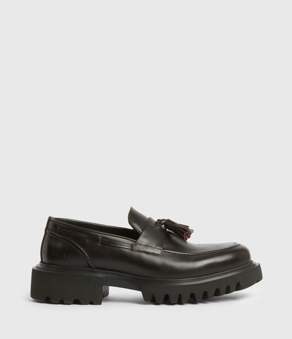 Vine Leather Loafers