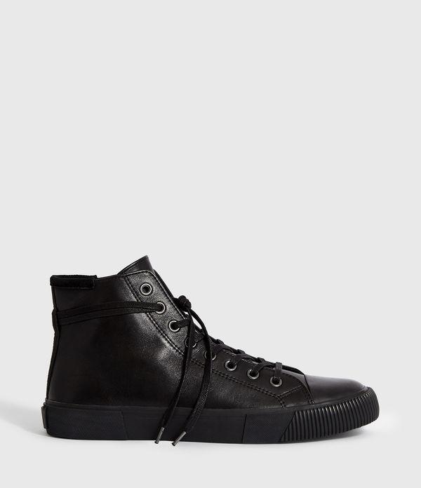 Osun Leather Hightop Trainer