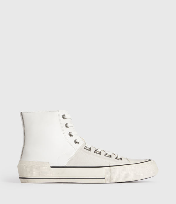 Waylon High Top Leather Sneakers