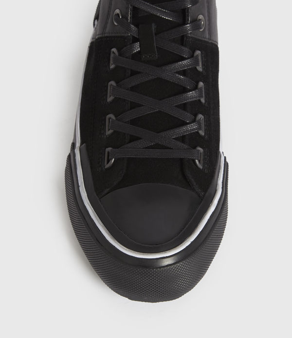 Waylon High Top Leather Trainers