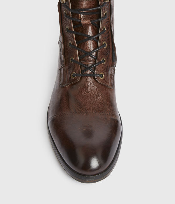 Mikkel Leather Boots