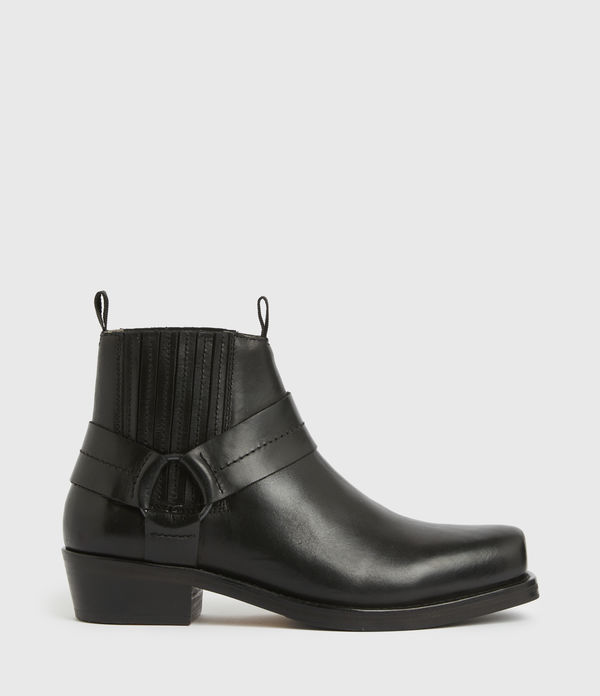 abbot leather boots
