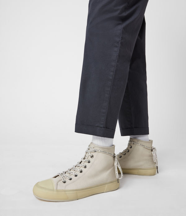 Jaxon High Top Canvas Sneakers