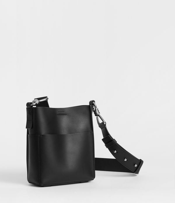 Captain Leather Crossbody Bag