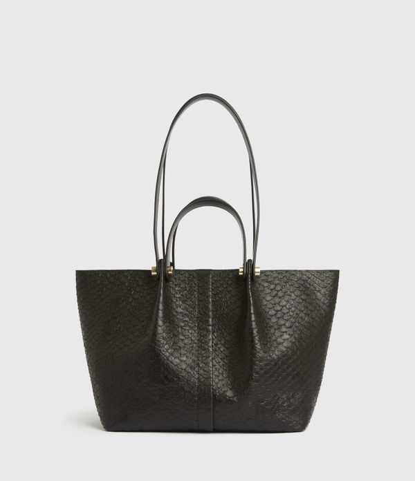 Allington Small East West Leather Tote Bag