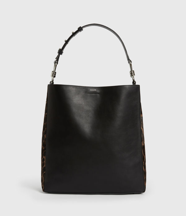Kim North South Leather Tote