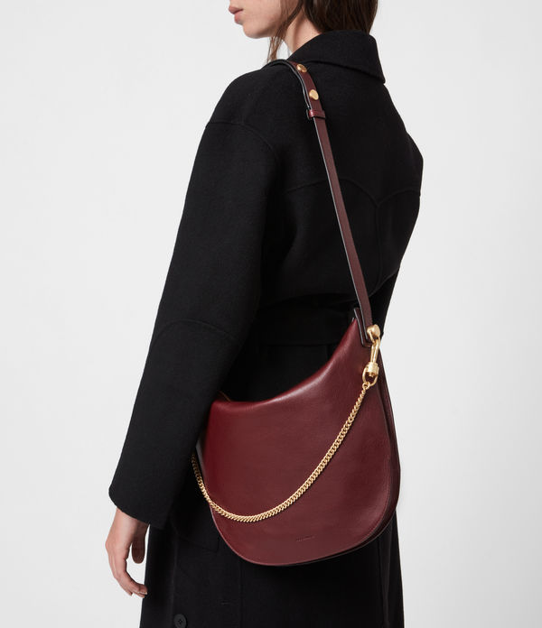 Blake Leather Shoulder Bag