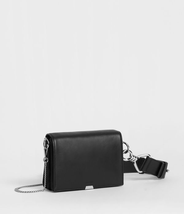 Captain Leather Flap Shoulder Bag