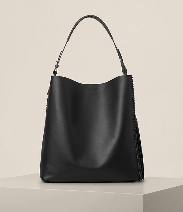 allsaints female  allsaints pearl hobo bag