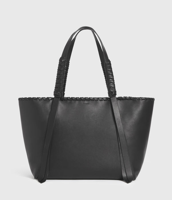 Holston Small East West Leather Tote Bag