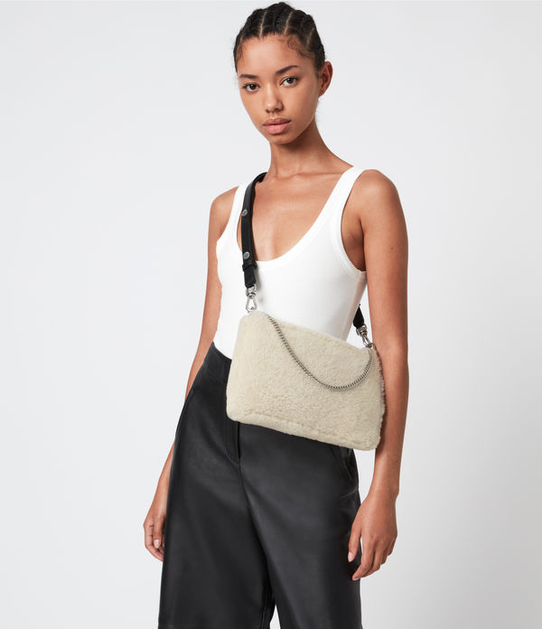 Eve Shearling Crossbody Bag