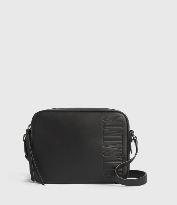 Rhoda Square Leather Crossbody Bag