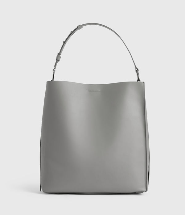 celadine north south leather tote bag