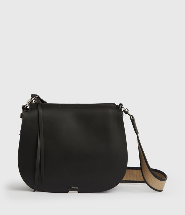Darcy Round Leather Crossbody Bag