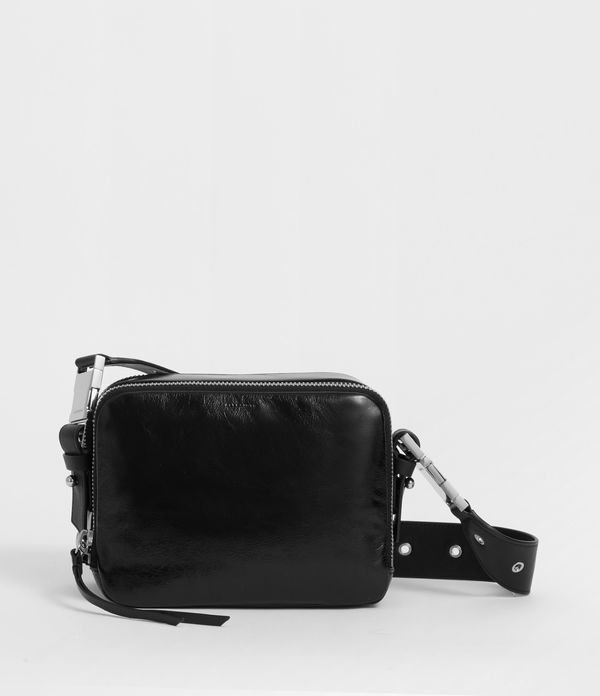 Clip Shiny Leather Bumbag Crossbody Bag