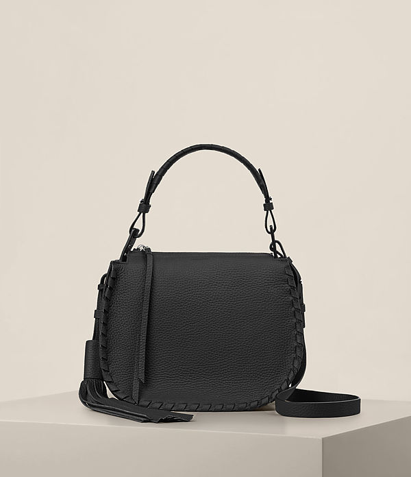 Mori Leather Crossbody Bag