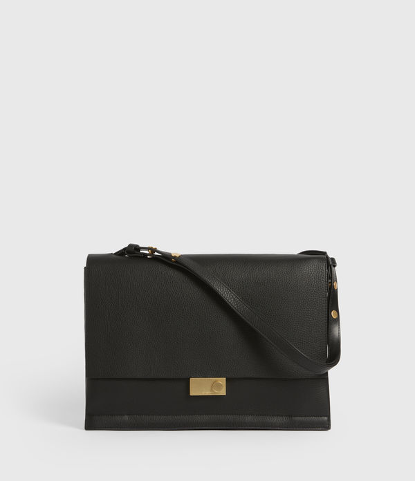 Avery Leather Shoulder Bag