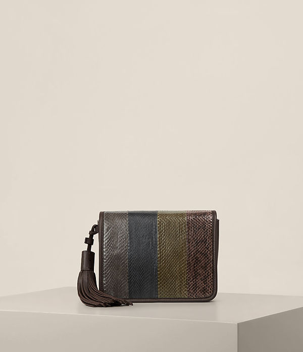 bansho snake shoulder bag