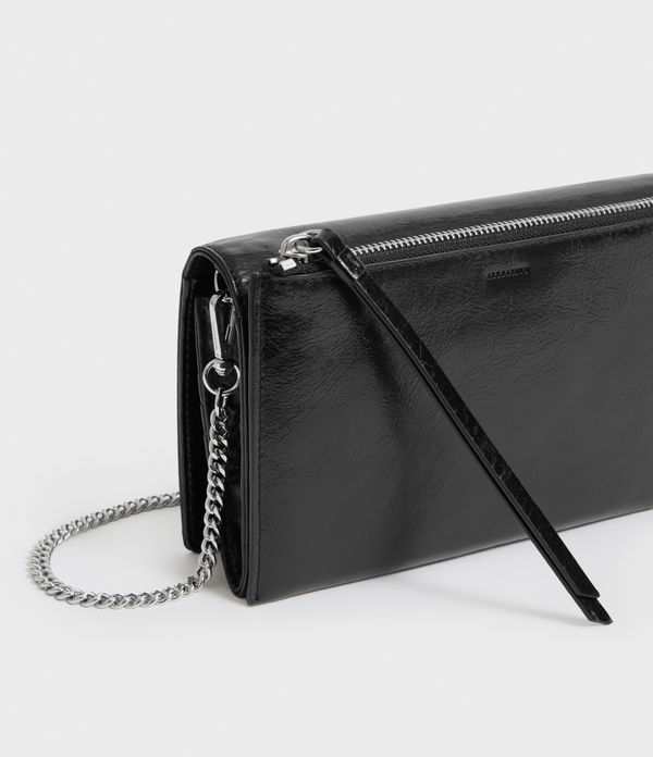 Bolsa Monedero en Piel Fetch Chain