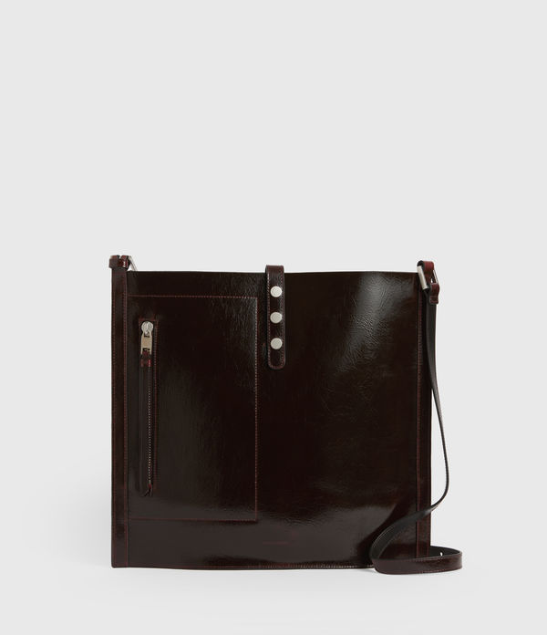 Seymour Leather North South Tote Bags