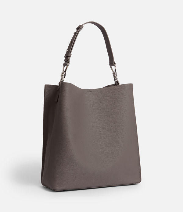 Captain Lea Leather North South Tote Bag