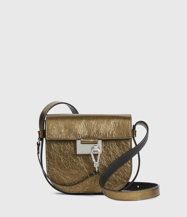 Ida Leather Crossbody Bag