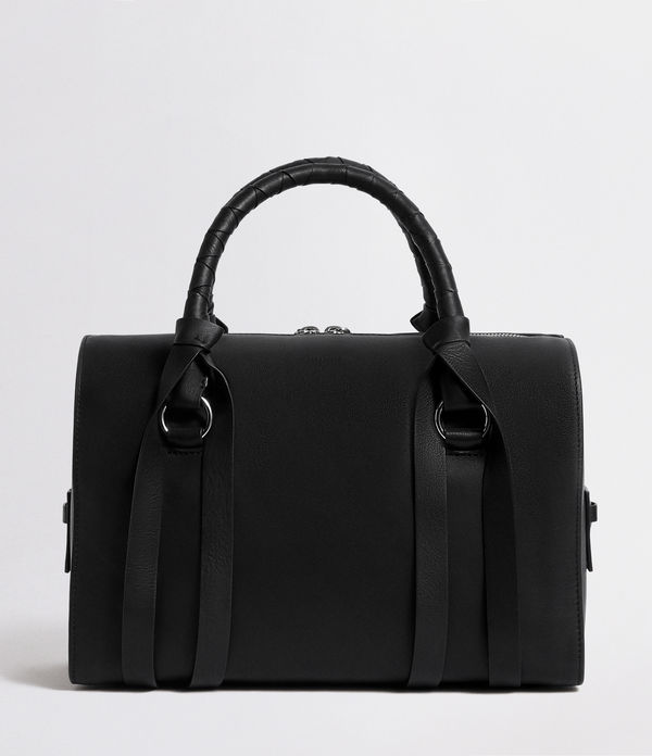 voltaire leather bowling bag