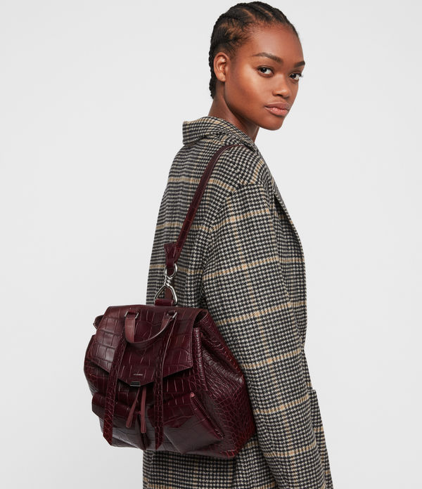 Polly Leather Backpack
