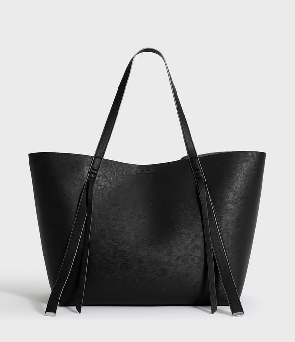 Playa East West Leather Tote Bag