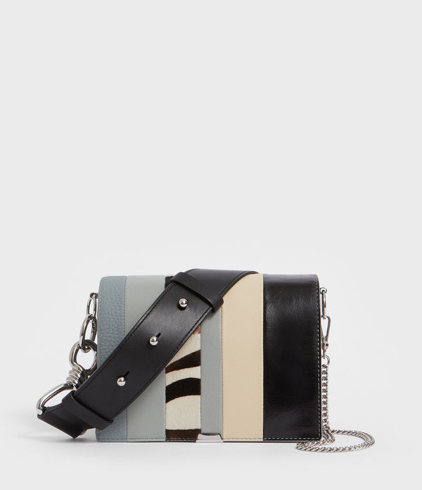 Captain Leather Multi-Flap Shoulder Bag